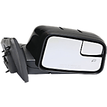 Mirror - Passenger Side, Power, Heated, Paintable, With Memory, Blind Spot Glass and Puddle Lamp