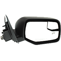 Mirror - Passenger Side, Power, Heated, Textured Black, With Blind Spot Glass