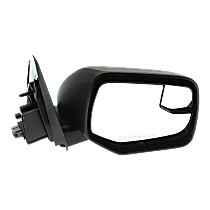 Mirror - Passenger Side, Power, Textured Black, With Blind Spot Function
