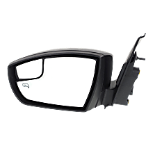 Mirror - Driver Side, Power, Heated, Folding, Paintable, With Turn Signal, Memory, Blind Spot Glass and Puddle Lamp