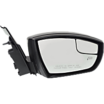 Mirror - Passenger Side, Power, Heated, Folding, Paintable, With Turn Signal, Memory, Blind Spot Glass and Puddle Lamp