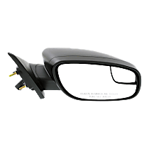 Mirror Non-Heated - Passenger Side, With Blind Spot Corner Glass, Textured Black