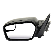 Mirror - Driver Side, Power, Black, With Blind Spot Glass