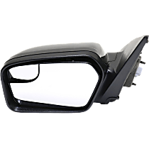 Mirror - Driver Side, Power, Paintable, With Blind Spot Glass