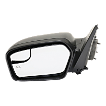 Mirror - Driver Side, Power, Heated, Black, With Blind Spot Glass