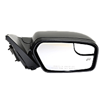 Mirror - Passenger Side, Power, Heated, Black, With Blind Spot Glass