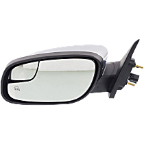 Mirror - Driver Side, Power, Heated, Chrome, With Memory, Blind Spot Glass and Puddle Lamp