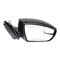 Mirror - Passenger Side, Power, Paintable, With Turn Signal and Blind Spot Glass