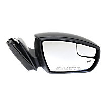 Mirror - Passenger Side, Power, Heated, Paintable, With Turn Signal and Blind Spot Glass