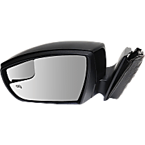 Mirror - Driver Side, Power, Heated, Paintable, With Turn Signal, Blind Spot Function and Puddle Lamp