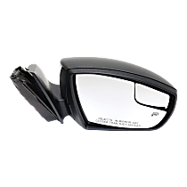 Mirror - Passenger Side, Power, Heated, Paintable, With Turn Signal, Blind Spot Function and Puddle Lamp