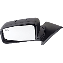 Mirror - Driver Side, Power, Heated, Textured Black, With Memory