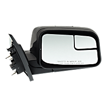 Mirror - Passenger Side, Power, Paintable, With Blind Spot Glass