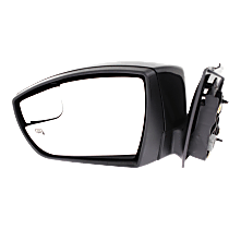 Mirror - Driver Side, Power, Heated, Paintable, With Turn Signal and Blind Spot Glass