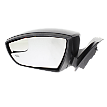 Mirror - Driver Side, Power, Heated, Paintable, With Turn Signal, Blind Spot Glass and Puddle Lamp
