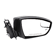 Mirror - Passenger Side, Power, Heated, Paintable, With Turn Signal, Blind Spot Glass and Puddle Lamp