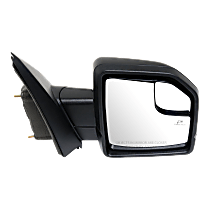 Mirror - Passenger Side, Power, Heated, Power Folding, Paintable, Turn Signal, Memory, Blind Spot Glass, Puddle Lamp, With Spot Light