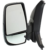 Mirror Non-Heated - Driver Side, Power Glass, Textured Black