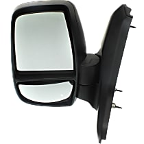 Mirror Non-Heated - Driver Side, Manual Glass, Textured Black