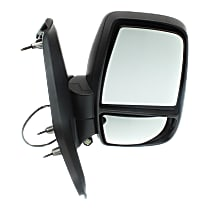 Mirror Non-Heated - Passenger Side, Power Glass, Textured Black