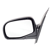 Mirror - Driver Side, Textured Black