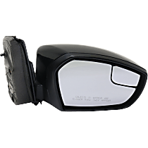 Mirror - Passenger Side, Power, Folding, Paintable, With Blind Spot Glass