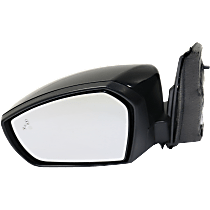 Mirror - Driver Side, Power, Folding, Paintable, With Blind Spot Function