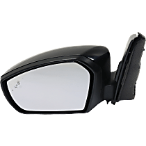 Mirror - Driver Side, Power, Heated, Folding, Paintable, With Turn Signal and Blind Spot Function