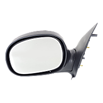 Mirror Manual Folding - Driver Side, Manual Glass, Chrome