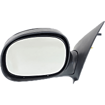 Mirror Manual Folding - Driver Side, Manual Glass, Paintable