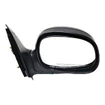 Mirror Manual Folding - Passenger Side, Power Glass, Paintable