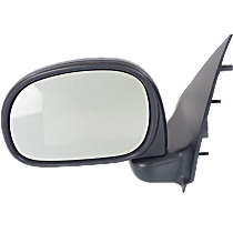 Mirror Manual Folding - Driver Side, Manual Glass, Textured Black