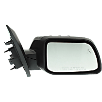 Mirror - Passenger Side, Power, Heated, Folding, Paintable, With Memory, Blind Spot Function, and Puddle Lamp