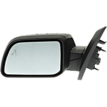Mirror - Driver Side, Power, Heated, Folding, Paintable, With Turn Signal, Memory, Blind Spot Function, and Puddle Lamp