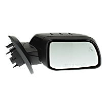 Mirror - Passenger Side, Power, Heated, Folding, Paintable, With Turn Signal, Memory, Blind Spot Function, and Puddle Lamp