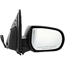 Mirror - Passenger Side, Power, Textured Black, Later 2nd Design