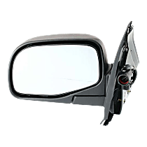 Mirror - Driver Side, Power, Textured Black, With Puddle Lamp