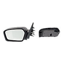 Mirror Non-folding Non-Heated - Driver Side, 2 Caps - Paintable & Textured Black