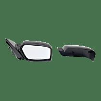 Mirror Non-folding Non-Heated - Passenger Side, 2 Caps - Paintable & Textured Black