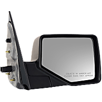 Mirror Non-Heated - Passenger Side, Power Glass, 2 Caps - Chrome & Paintable