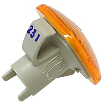FER 02416391104 Turn Signal Light in Fender (Amber) - Replaces OE Number 4D0-949-127 B