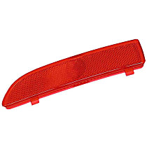 FER 02530390104 Reflector Bumper Cover (Red) - Replaces OE Number 63-14-8-376-873