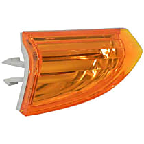 FER 02553490304 Bumper Cover Reflector (Orange) - Replaces OE Number 3C8-807-717 A