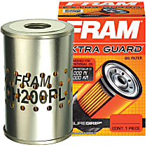 CH200PL Oil Filter - Cartridge, Direct Fit, Sold individually