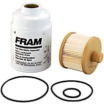 Fram K10489 Fuel/Water Separator Filter - Direct Fit