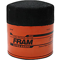 Fram PH2 Oil Filter - Canister, Direct Fit, Sold individually