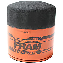 PH3506 Oil Filter - Cartridge, Direct Fit, Sold individually