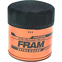 Fram PH3593A Oil Filter - Canister, Direct Fit, Sold individually