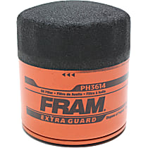 PH3614 Oil Filter - Canister, Direct Fit, Sold individually