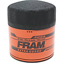 Fram PH3614 Oil Filter - Canister, Direct Fit, Sold individually